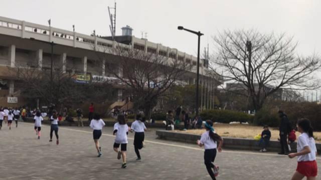 3月18日、キッズのマラソン大会に出場しました。